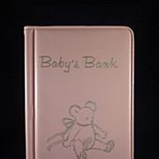 'Baby Bank' Aurora National Bank Freebie with Original Box Pink