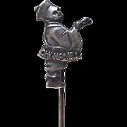 Chi-Namel Figural Metal Stickpin Premium