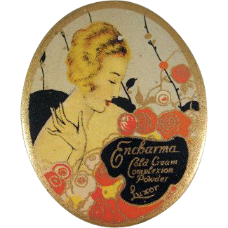 Encharma Cold Cream Complexion Powder Luxor Tin