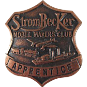 'StromBecKer Model Makers Club Apprentice' Badge Premium