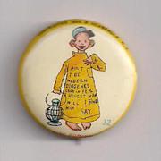 Yellow Kid Celluloid Pinback Button #32