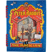 HOLD Peter Rabbit the Magician Book Complete in Original Box