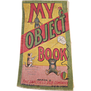 'My Object Book' Muslin Book by Saalfield