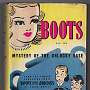 'Boots and the Mystery of the Unlucky Vase' hard back Book