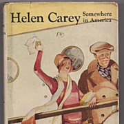 'Helen Carey  Somewhere in America' Hard Back Book
