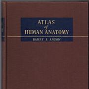 'Atlas of Human Anatomy' Hard Back Book