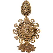 Ornate Gilt Stylebuilt Perfume Bottle