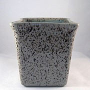 Glidden Black and Brown Speckles on Gray Planter