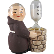 Goebel Friar Tuck Brown Monk Egg Timer