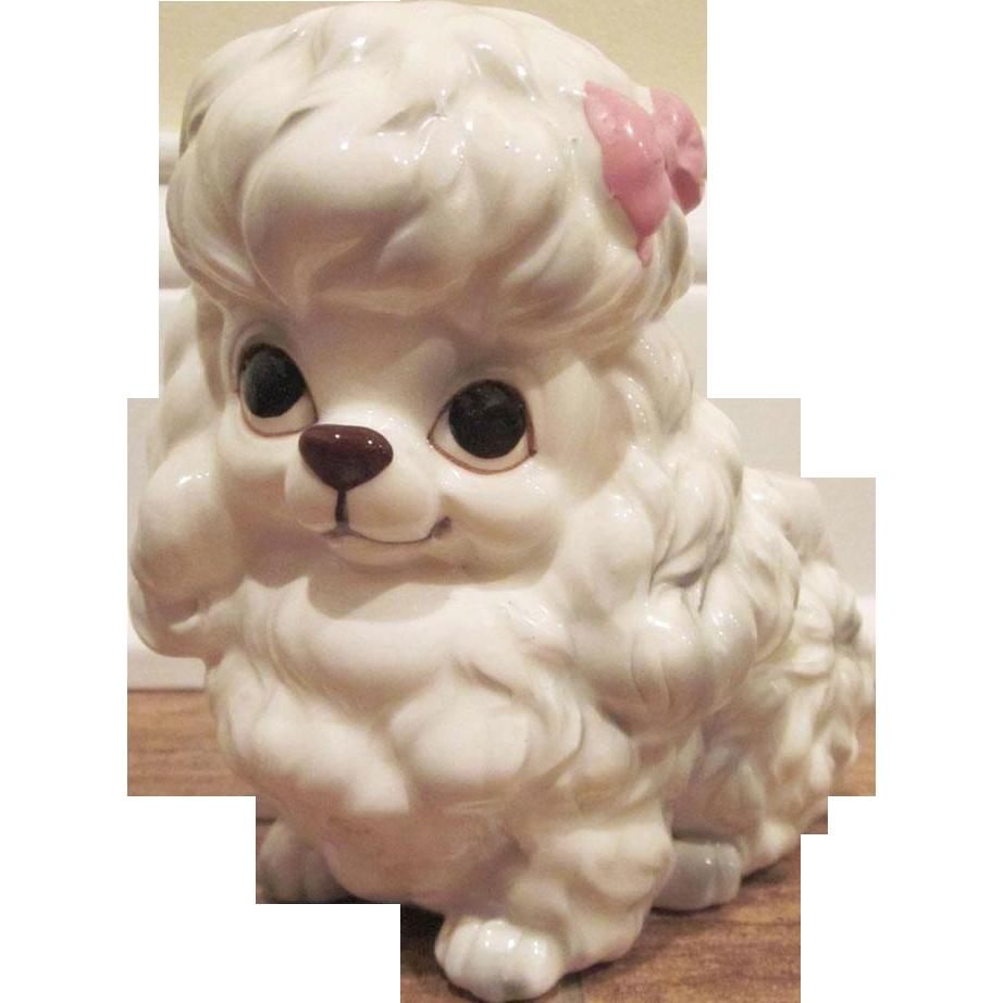 Napcoware Made In Japan Poodle Planter