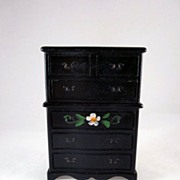 "Renwal No. 85 3/4"" Crosse & Blackwell Highboy Dollhouse Furniture"