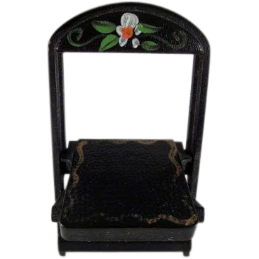 "Renwal No. 109 3/4"" Folding Chair Crosse & Blackwell Dollhouse Furniture Have 2"