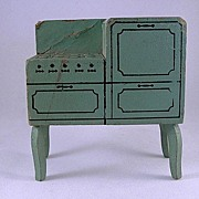 "Strombecker 1"" 1933 Stove Dollhouse Furniture"
