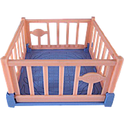 "Ideal 3/4"" Playpen Dollhouse Furniture"