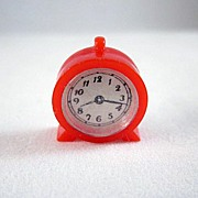 "Renwal No. 11 Kitchen, Alarm Clock 3/4"" Dollhouse Accessory"
