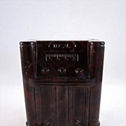 "Ideal 3/4"" Floor Radio Dollhouse Furniture"
