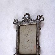 Soft Metal Narrow Mirror Dollhouse Accessory