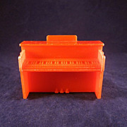 "Marx 1/2"" Rumpus Room Piano Dollhouse Furniture"