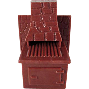 "Marx Imagination 1/2"" Barbecue Grill from the Patio Dollhouse Furniture"