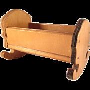 "Wanner, Grand Rapids 1"" Cradle Dollhouse Furniture"