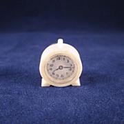 "Renwal 3/4"" No. 11 Kitchen Clock White Dollhouse Accessory"