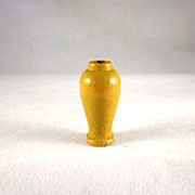 "Strombecker 3/4"" Yellow Vase Dollhouse Accessory"