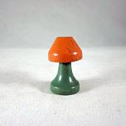 """Jaymar Happy Hour 3/4"""" Table Lamp Dollhouse Accessory"""