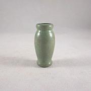 "Strombecker 3/4"" Green Vase Dollhouse Accessory"