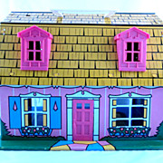 Marx Tin Litho Fantasy  Dollhouse From 1971