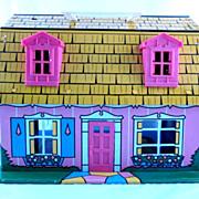 Marx Tin Litho Fantasy  Dollhouse From 1971