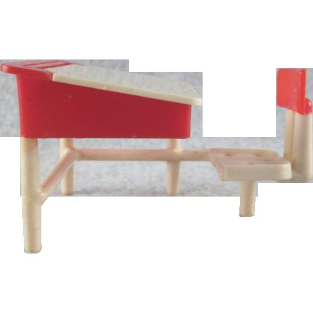 Hold Thomas Toys Hard Plastic School Desk Dollhouse Furniture From Milkweedantiques On Ruby Lane