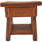 "Wanner, Grand Rapids 1-1/2"" Night Stand Dollhouse Furniture"