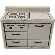 "Kage 3/4"" Stove Dollhouse Furniture"