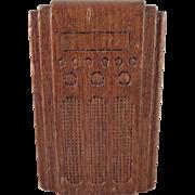 """Strombecker 3/4"""" Floor Radio Dollhouse Furniture"""