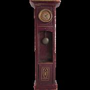Wooden Gottschalk Grandfather Clock Dollhouse Furniture