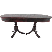 """Ideal 3/4"""" Pedestal Dining Room Table Dollhouse Furniture"""