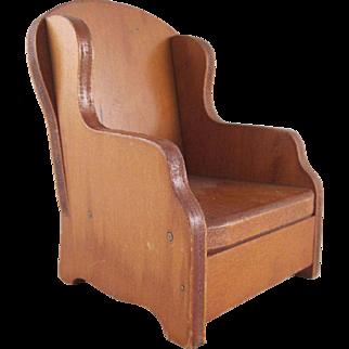"Wanner, Grand Rapids 1"" Barrel Chair Dollhouse Furniture"