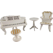 "Lundby 3/4"" Royal Music Room Dollhouse Furniture"