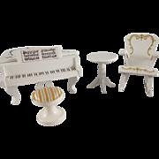 "Lundby 3/4"" Royal Music Room Dollhouse Furniture"