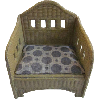 Made in Germany Korbi Dollhouse Patio Chair with Dots