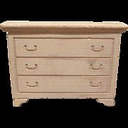 "Strombecker 3/4"" 1950 Dining Room Server Dollhouse Furniture"