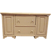 "Strombecker 3/4"" 1950 Buffet Dollhouse Furniture"
