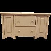 """Strombecker 3/4"""" 1950 Buffet Dollhouse Furniture"""