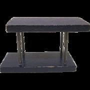 """Miniaform 3/4"""" Sofa Table MCM Dollhouse Furniture"""