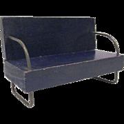 "Miniaform 3/4"" Sofa MCM Dollhouse Furniture"