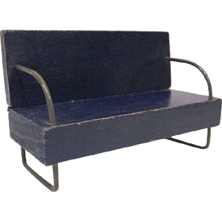 "Miniaform 3/4"" Sofa MCM Dollhouse Furniture"