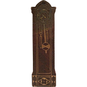 "Strombecker 3/4"" Grandfather Clock Dollhouse Furniture"