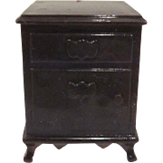 "Ideal 3/4"" Night Stand Dollhouse Furniture"