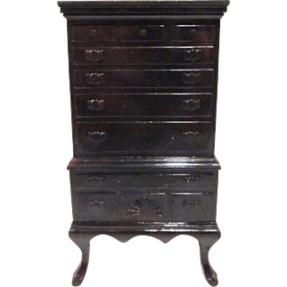 "Ideal 3/4"" Highboy Dollhouse Furniture"