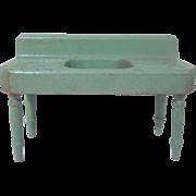 """Strombecker 3/4"""" 1934 Kitchen Sink Dollhouse Furniture"""